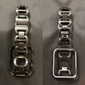 Metal with Screen Bumper Apple Watch Strap - 38mm